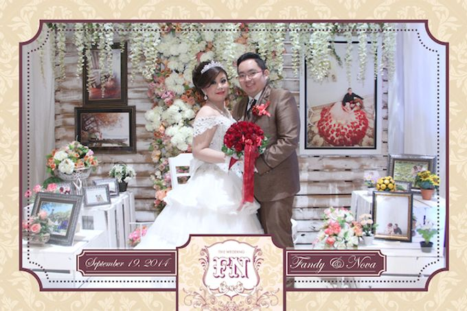 The Wedding of Fandy & Nova by After 5 Photobooth - 018