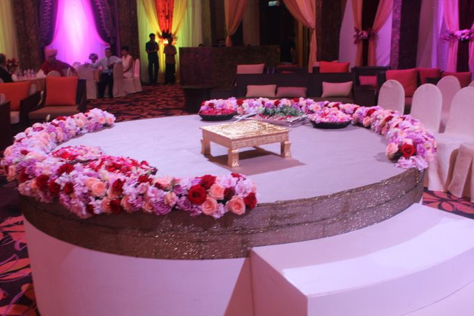Indian Wedding - Ballroom by Shangri-La Rasa Ria Resort & Spa - 005