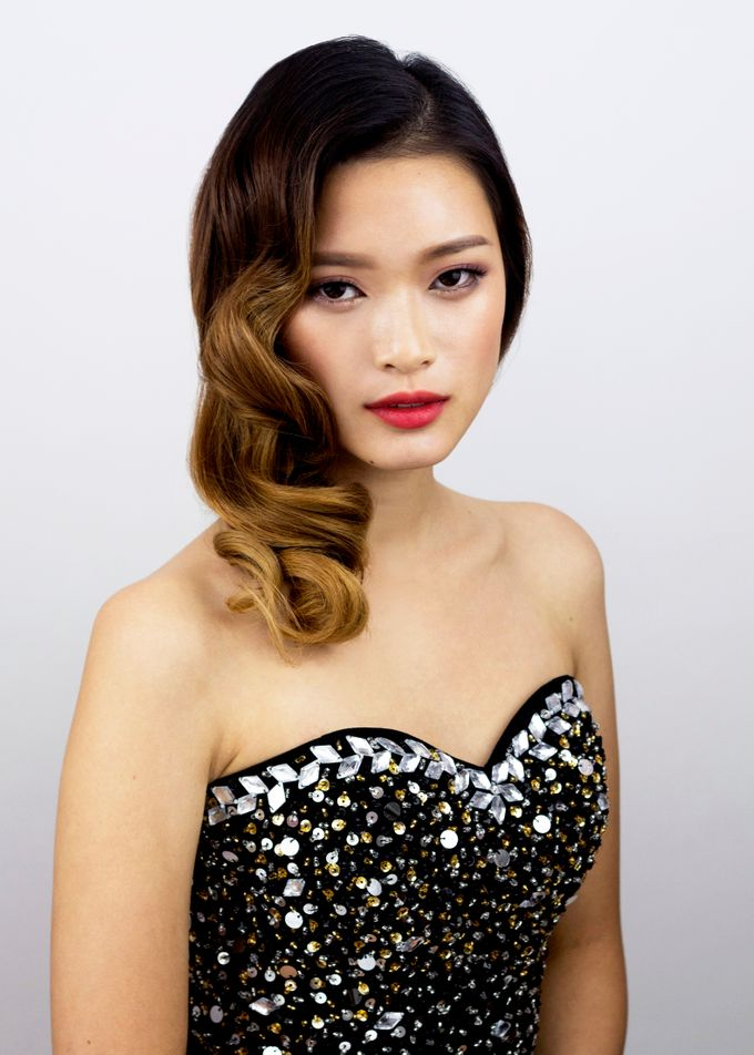 Vintage Elegant Makeup and Hairstyles by Sylvia Koh Makeup and Hairstyling - 003