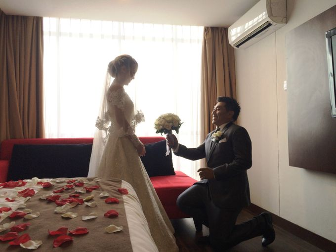 The Wedding Of Willy and Tina by JS Wedding Planner Organizer and Entertainment - 022