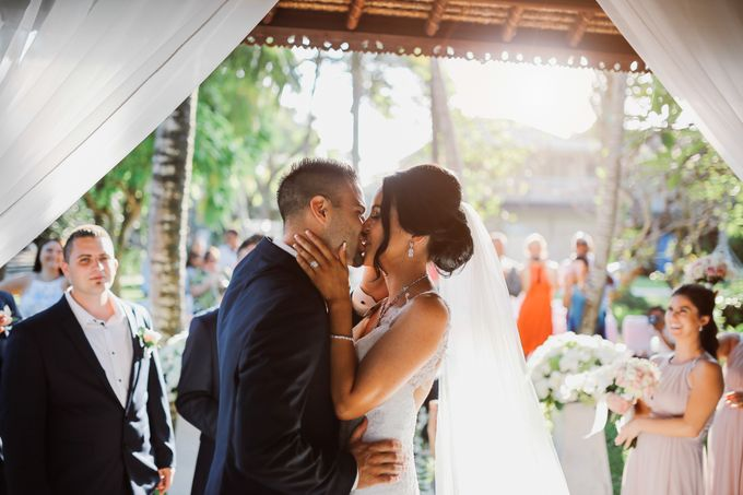 Bali Wedding - Elly and Jay at Segara Village Hotel by The Deluzion Visual Works - 033