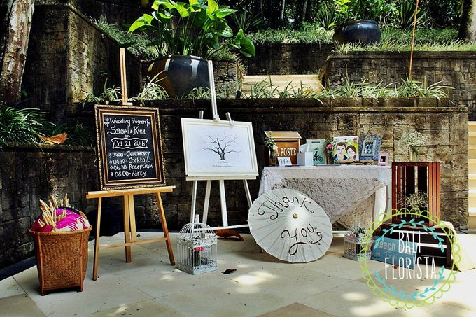 Simple Rustic Romantic by Bali Florista - 005