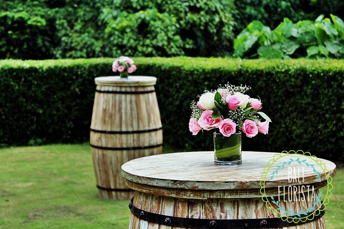 Simple Rustic Romantic by Bali Florista - 002
