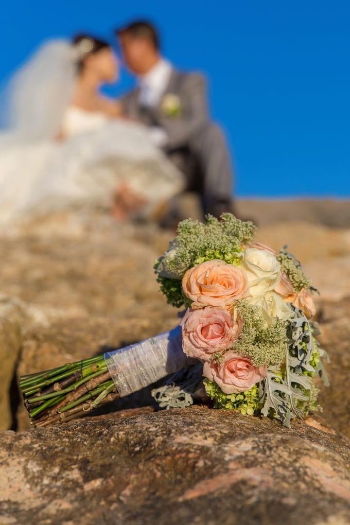 WEDDING ALEX & YITING by Fairmont Sanur Beach Bali - 022