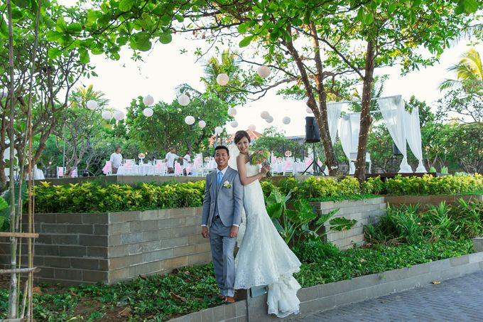 WEDDING ALEX & YITING by Fairmont Sanur Beach Bali - 023