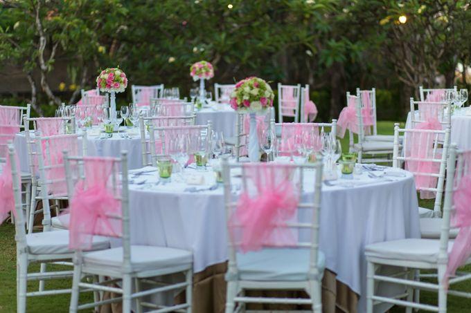 WEDDING ALEX & YITING by Fairmont Sanur Beach Bali - 024