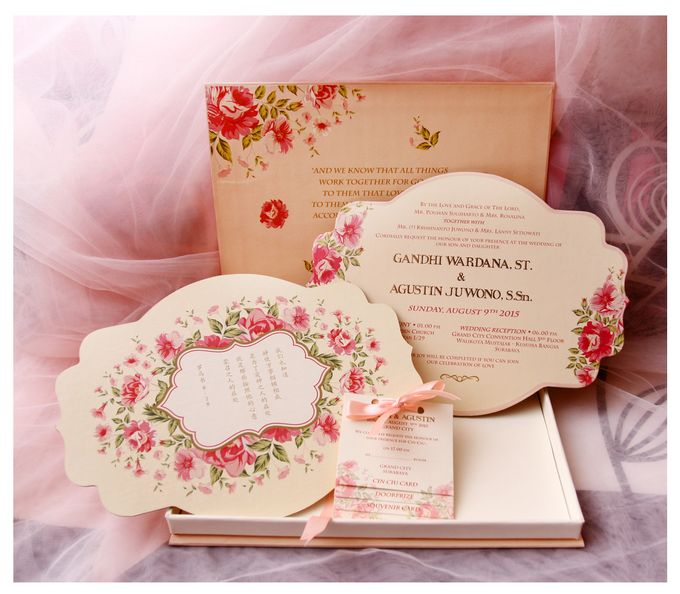 Luxe invitation box with single hard box invitation by Sempurna Invitations&Gift - 001