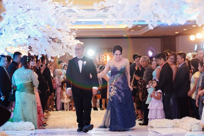 Wedding of Riady & Angel - Shangri-La - Jakarta by MARK & CO - 002