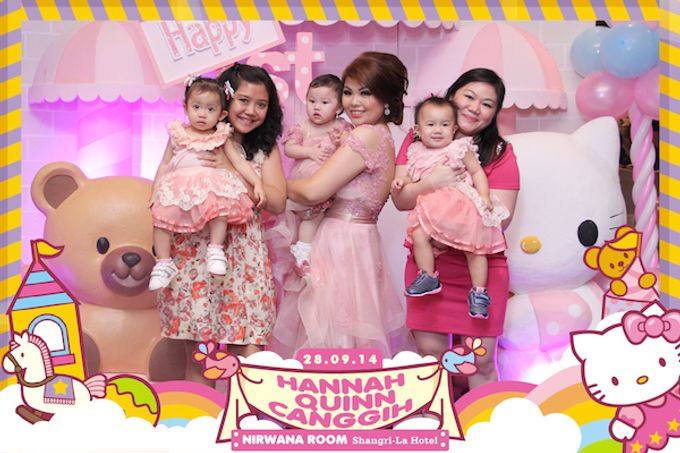 First Birthday of Hannah Quinn by After 5 Photobooth - 004