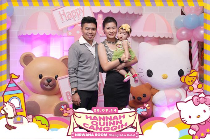 First Birthday of Hannah Quinn by After 5 Photobooth - 005