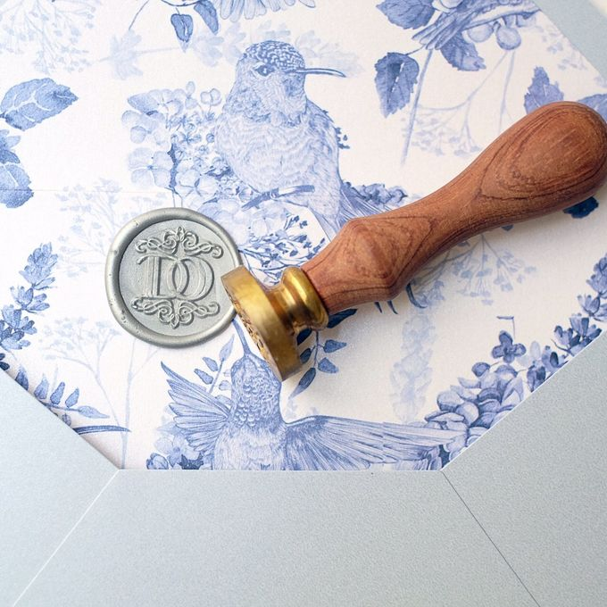Wax Stamp The Love Seal by Memento Idea - 005
