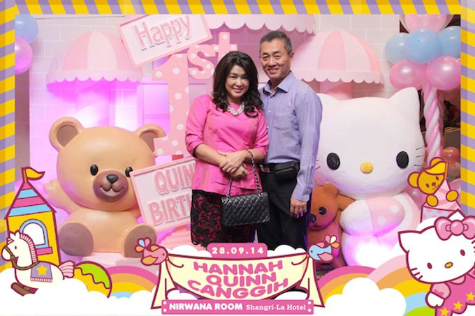 First Birthday of Hannah Quinn by After 5 Photobooth - 007