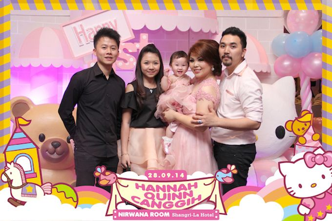First Birthday of Hannah Quinn by After 5 Photobooth - 008