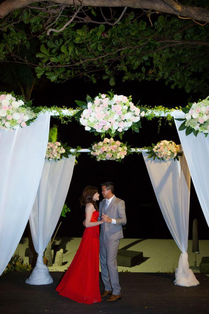 WEDDING ALEX & YITING by Fairmont Sanur Beach Bali - 027