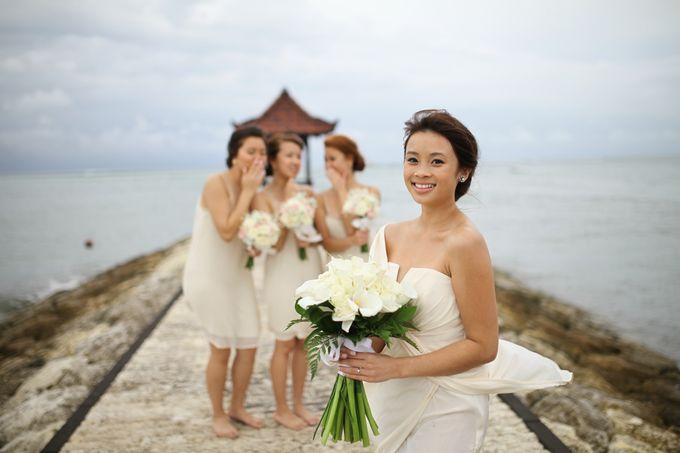 Chloe and Samuel Wedding by Grand Aston Bali Beach Resort - 003