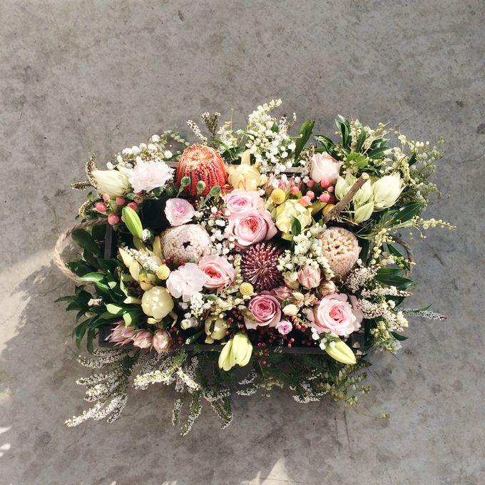 Rustic Bridal Bouquet by Petit Petal - 003