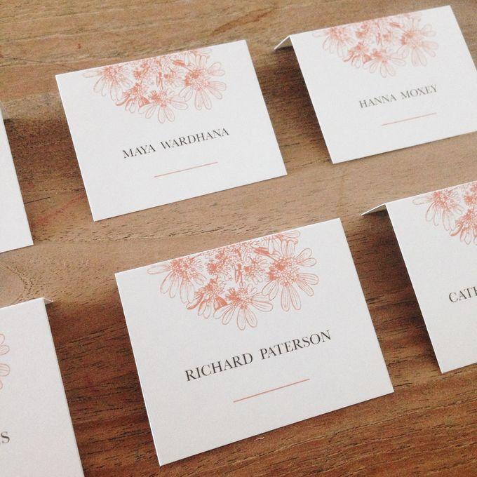 Tiffany & Teguh Wedding by My Sweet Scarlett Paperie - 002