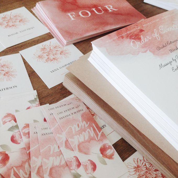 Tiffany & Teguh Wedding by My Sweet Scarlett Paperie - 004