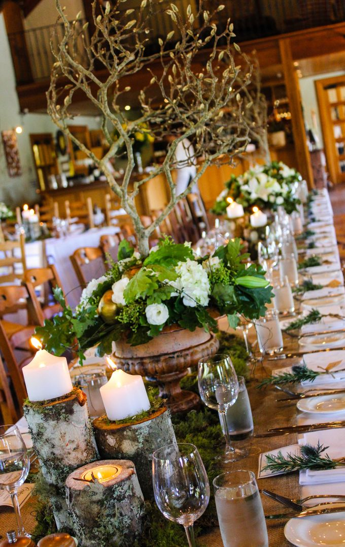 Ceremony and Reception by Affair with George  Florals & Event Styling - 032