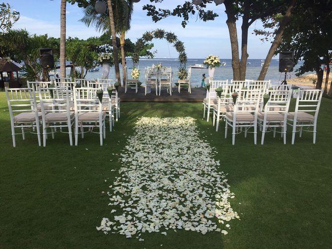WEDDING YETI & LUCA by Fairmont Sanur Beach Bali - 001
