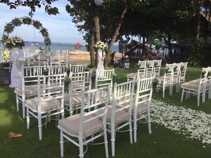WEDDING YETI & LUCA by Fairmont Sanur Beach Bali - 002