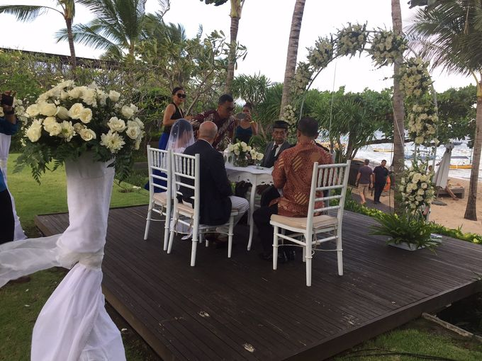 WEDDING YETI & LUCA by Fairmont Sanur Beach Bali - 003