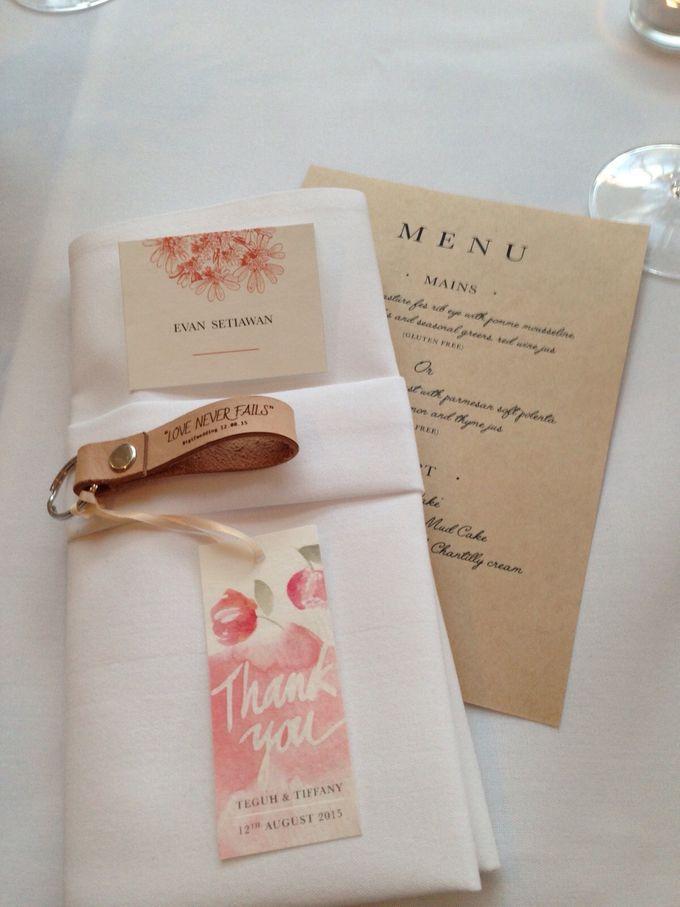 Tiffany & Teguh Wedding by My Sweet Scarlett Paperie - 008