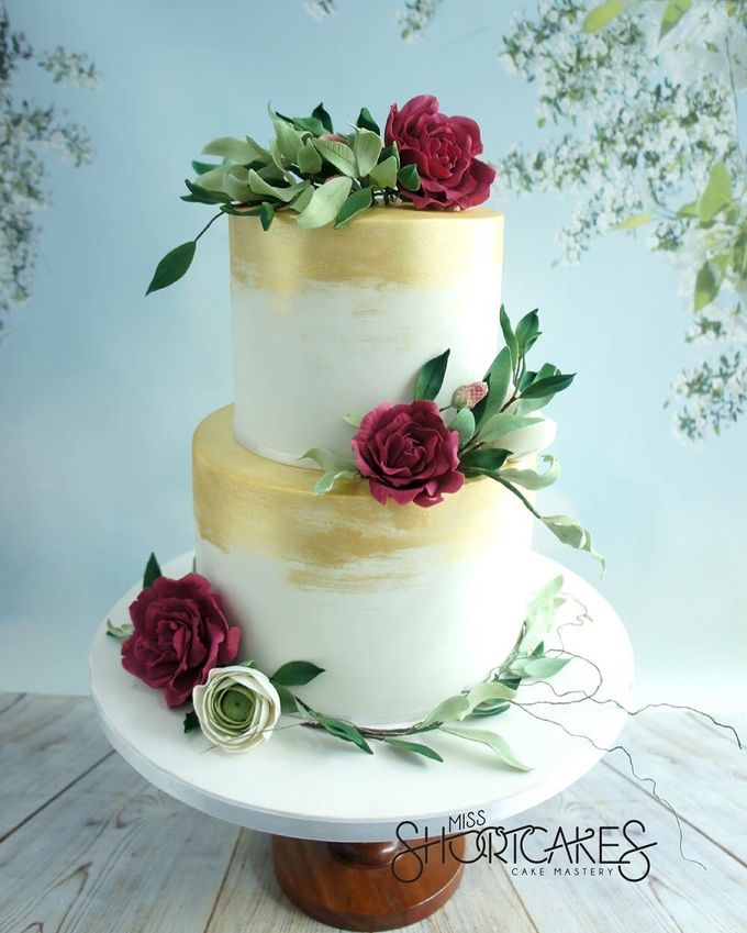 Wedding cakes by Miss Shortcakes - 002