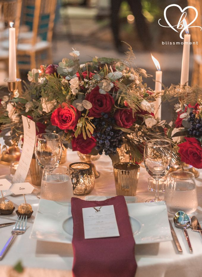 Sujev & Vijeeta - New Zealand Inspired Vintage Rustic Wedding Reception by Blissmoment - 010