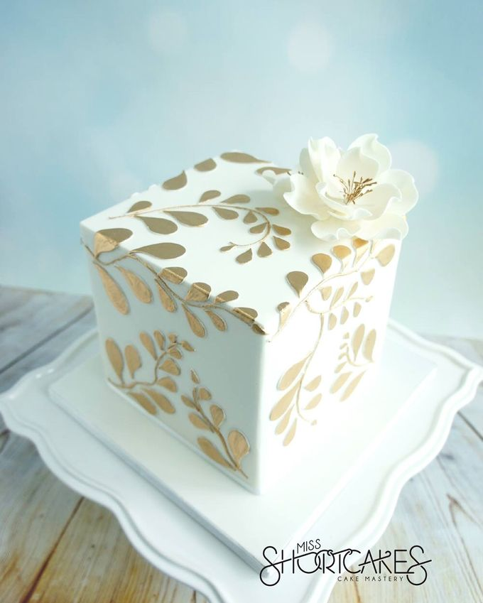 Wedding cakes by Miss Shortcakes - 003