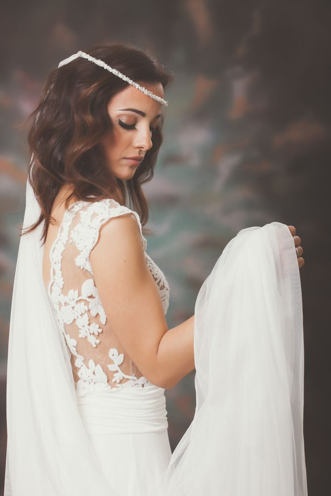A beautifull bride by George Ladas Photography - 017