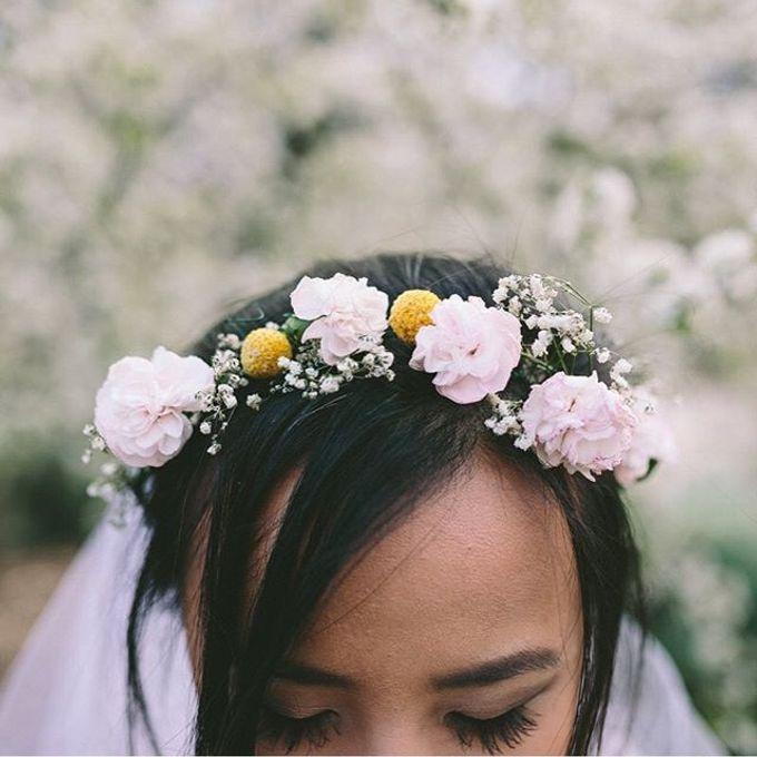 Rustic Bridal Bouquet by Petit Petal - 004