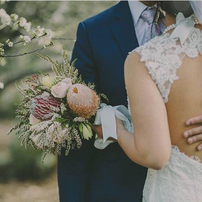 Rustic Bridal Bouquet by Petit Petal - 005