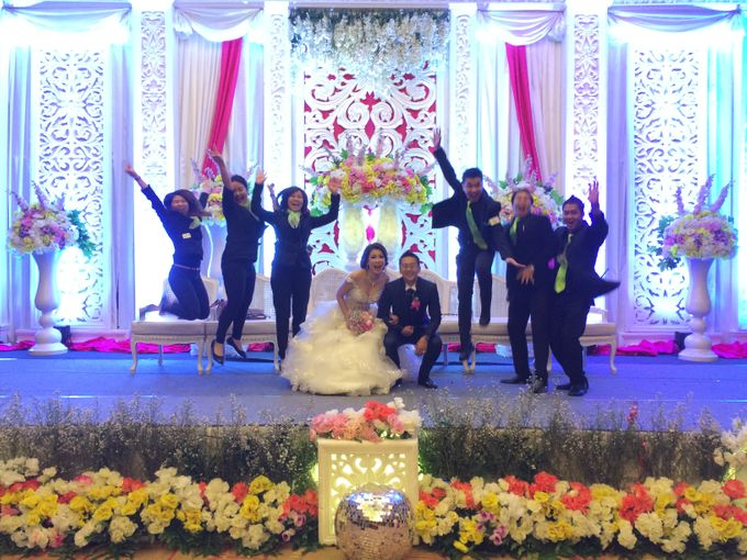 THE WEDDING OF ANDY AND MEGA by JS Wedding Planner Organizer and Entertainment - 043