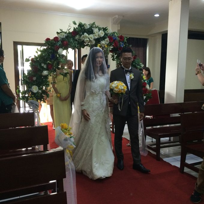 THE WEDDING OF ANDY AND MEGA by JS Wedding Planner Organizer and Entertainment - 046
