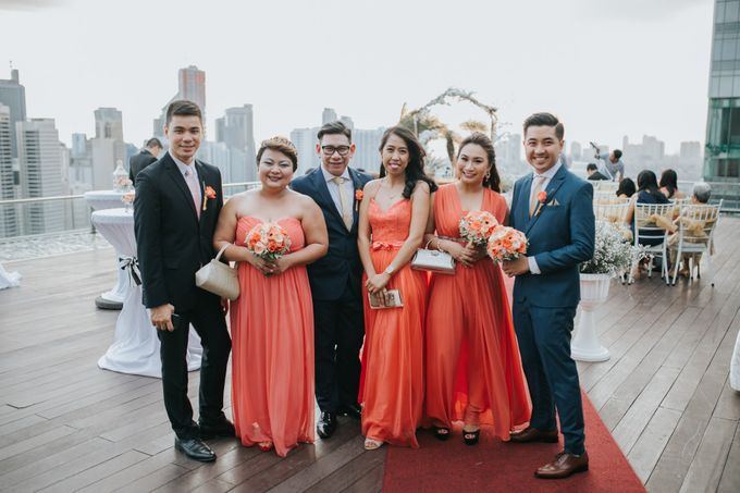 Yayaati and Sam Rooftop Wedding by James Morrison Photo - 045
