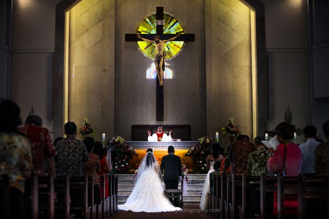ALBERT & SINTHIA - WEDDING DAY by Spotlite Photography - 008