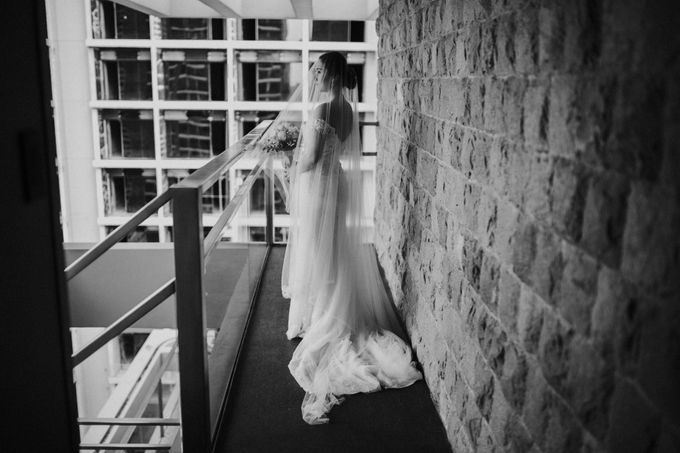 Yayaati and Sam Rooftop Wedding by James Morrison Photo - 046
