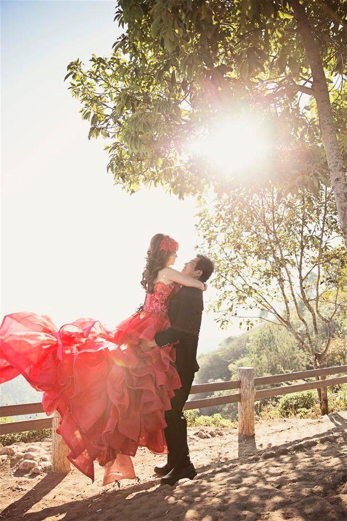Prewedding of RIcky - Sherly by Gazelle Brides - 001