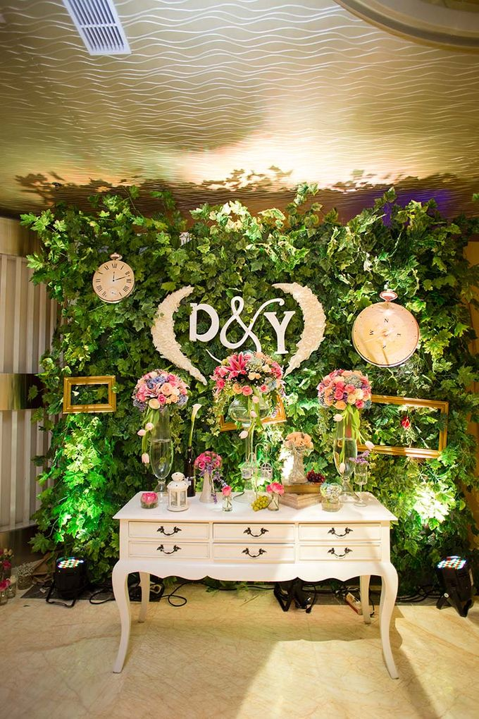 The Wedding of Davin & Yunisa by The Swan Decoration - 007