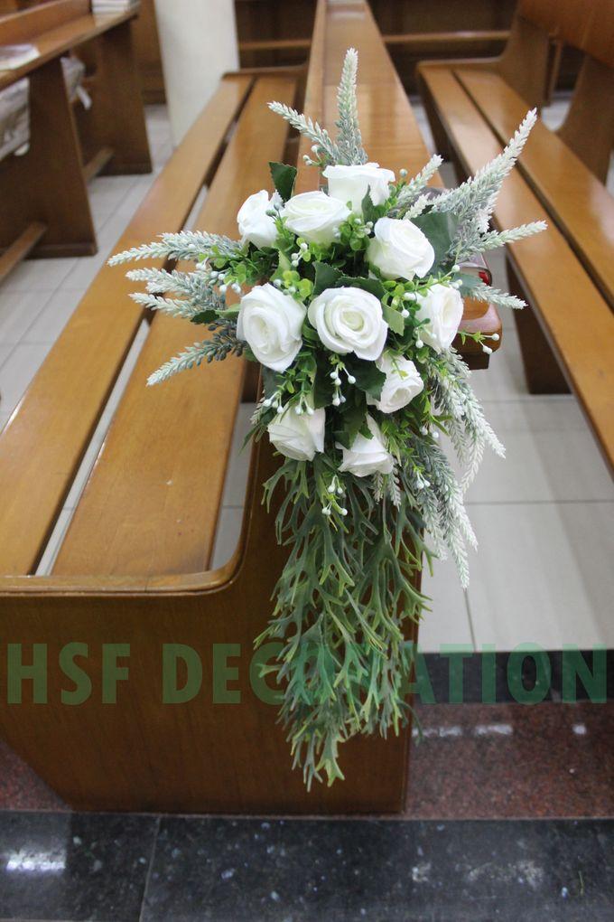 PEMBERKATAN DI GEREJA by Home Smile Florist - 001
