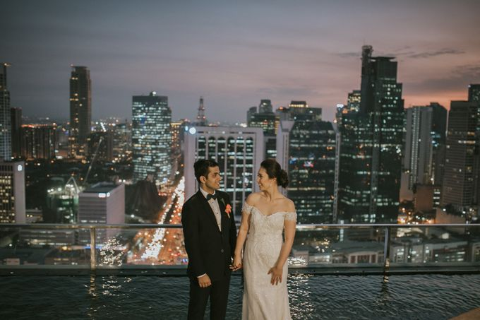 Yayaati and Sam Rooftop Wedding by James Morrison Photo - 048