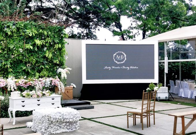 LED Rental for Garden Wedding Party by Studio Pro - 003
