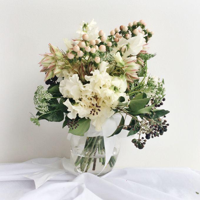 Ivory Vintage Bouquet by Petit Petal - 002