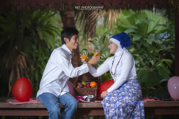 Rindi & Tian - PREWEDDING by NET PHOTOGRAPHY - 011