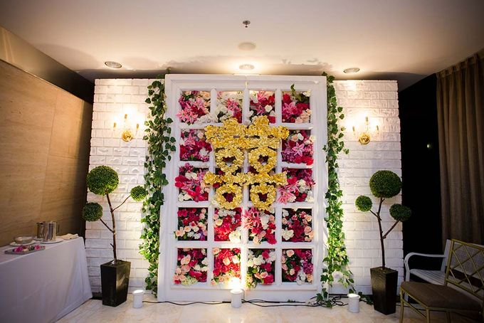 The Wedding of Davin & Yunisa by The Swan Decoration - 017