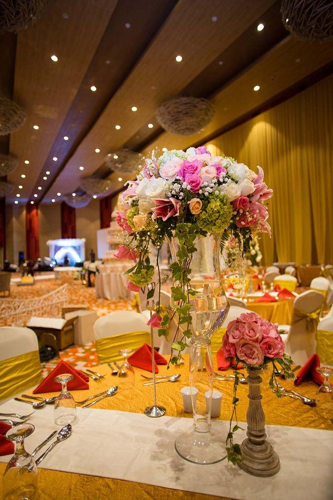 The Wedding of Albert & Sylvia Grand mercure Kemayoran by The Swan Decoration - 001