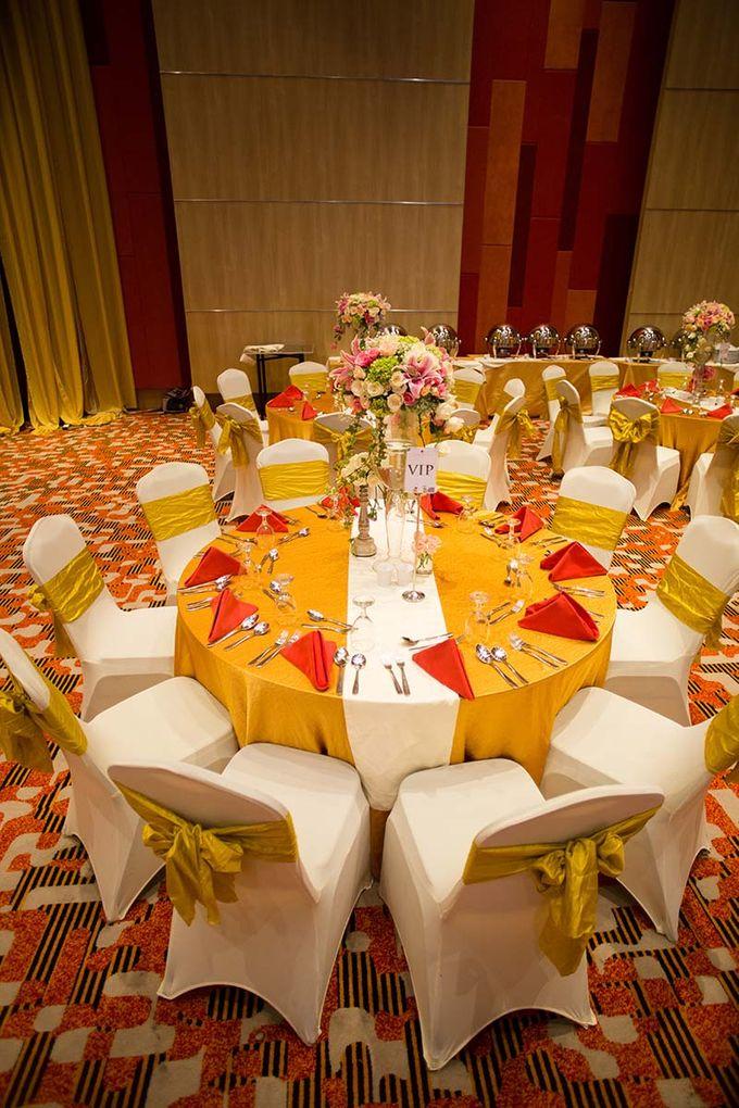 The Wedding of Albert & Sylvia Grand mercure Kemayoran by The Swan Decoration - 002
