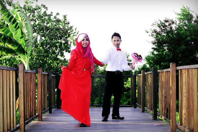 After Wedding Fika and agung by semut abang photograph - 006