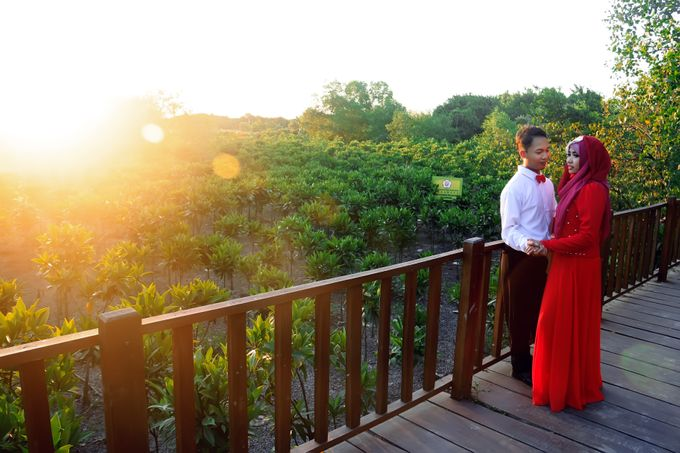 After Wedding Fika and agung by semut abang photograph - 007